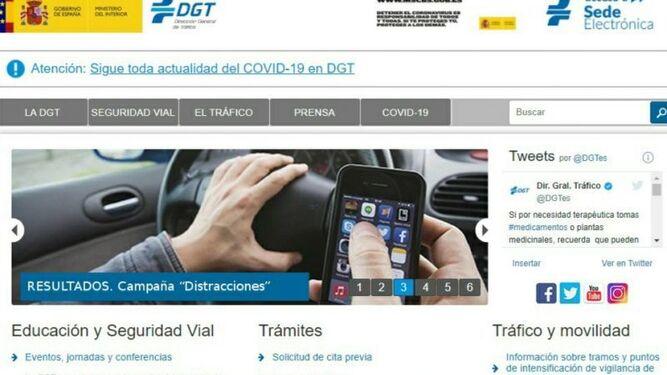 DGT: problemas a la hora de hacer trámites en su web