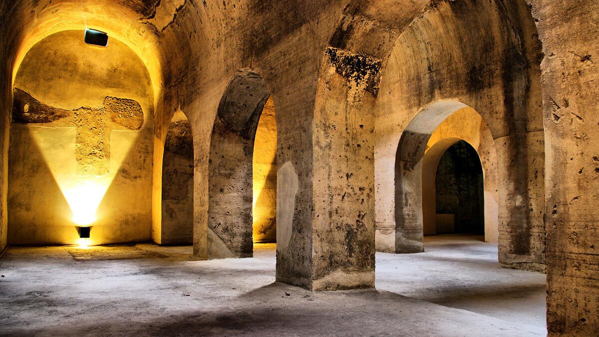 El Aljibe del Rey, convertido en Centro de Interpretación del Agua.