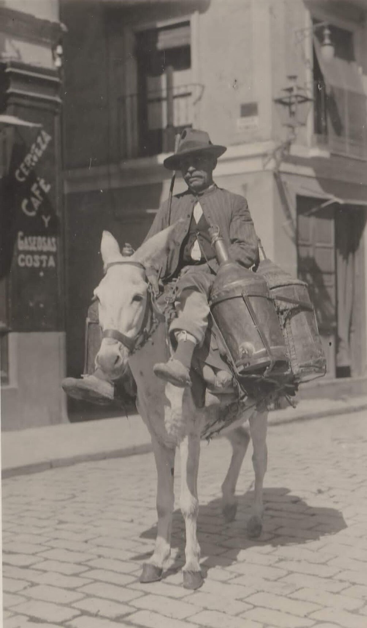 Un aguaor a principios del siglo XX.