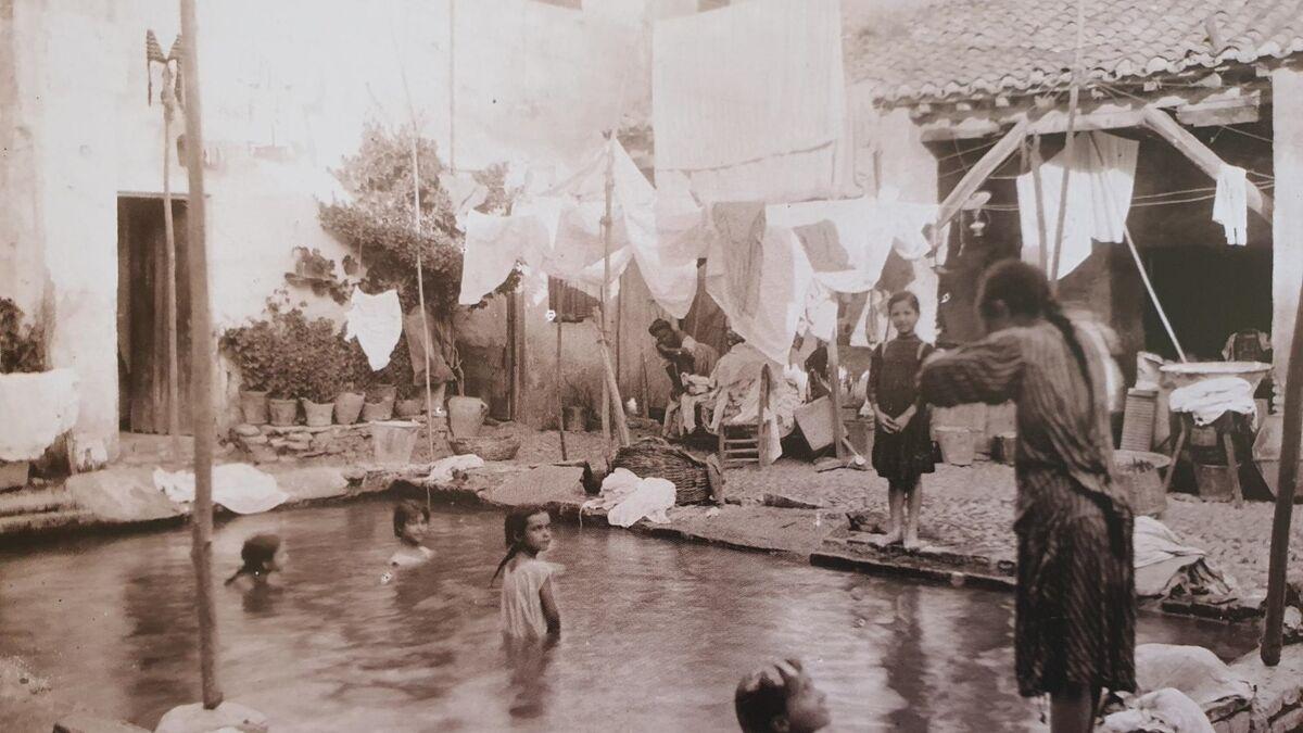 La alberquilla del Señor en el Realejo, la primera 'piscina' de pago en la ciudad BUENA