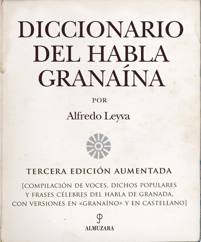 Portada del diccionario del habla granaína.