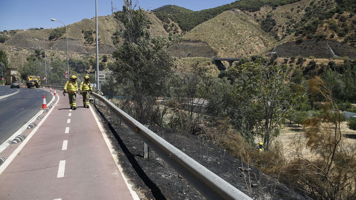 En esta zona de Cenes de la Vega había prevista la construcción de un nudo de viaductos
