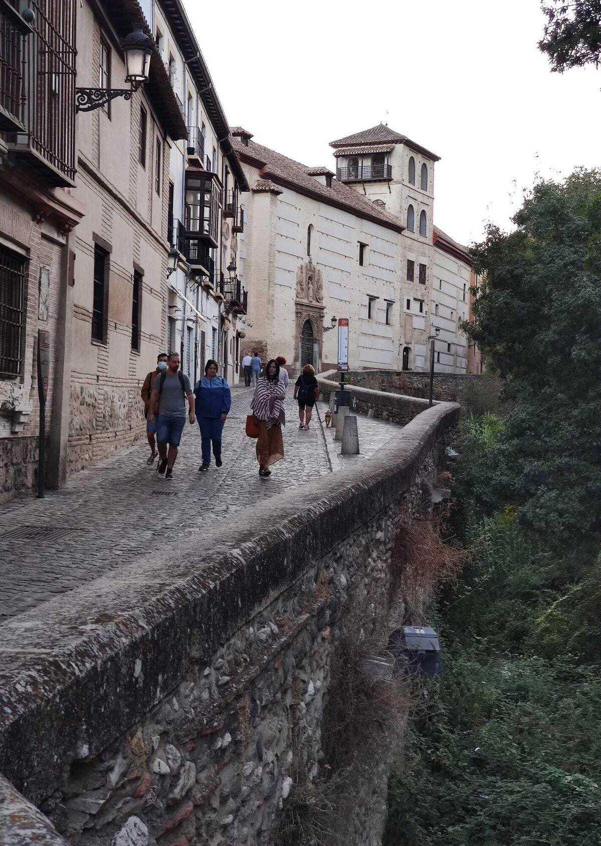Para muchos viajeros la calle más bonita del mundo.